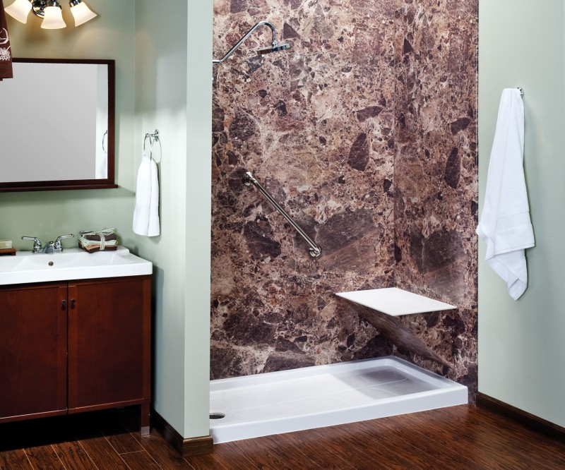 Walk-In Shower Photos | Pictures of Walk-In Showers | Safe Step Tub